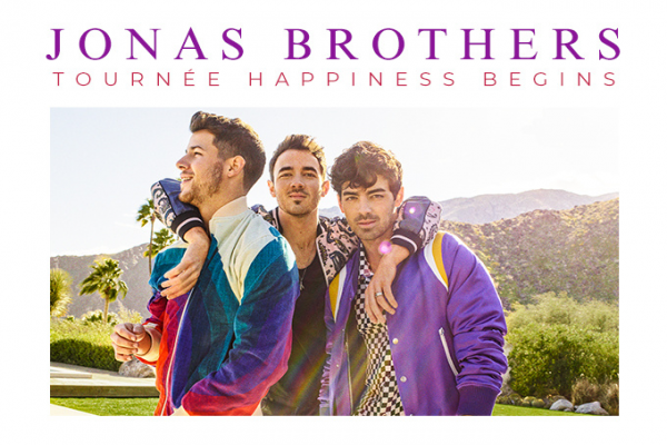 "JONAS BROTHERS ""HAPPINESS BEGINS"""